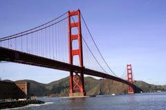 Porta dourada, SF Imagens de Stock Royalty Free