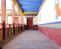 Porta e corredor Imagem de Stock