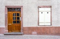 Porta e finestra della Camera Fotografie Stock Libere da Diritti