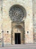 Porta e finestra della chiesa Fotografia Stock Libera da Diritti