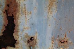 Porta e madeira deixadas de funcionar Foto de Stock Royalty Free