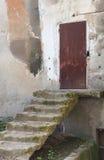 Porta e scale Immagine Stock