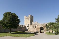 A porta e a torre da déspota dentro do complexo da fortaleza de Belgrado, Sérvia Foto de Stock