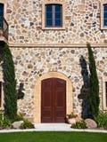 Porta elegante del palazzo in Napa Valley Fotografia Stock Libera da Diritti