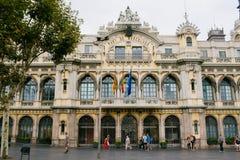 Porta em Barcelona Fotos de Stock