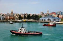 Porta em Batumi Fotografia de Stock Royalty Free