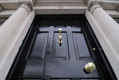 Porta em Dublin Imagens de Stock