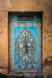 Porta em Marrocos Fotos de Stock