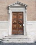 Porta em Roma, Itália foto de stock royalty free