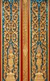 Porta em Wat Chalong Fotografia de Stock Royalty Free