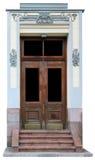 Porta envelhecida velha do carvalho do vintage Imagem de Stock