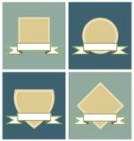 Porta-etichette Fotografia Stock