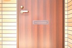 Porta exterior Fotos de Stock Royalty Free
