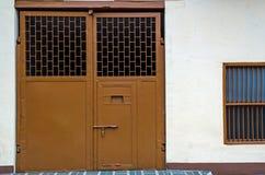 Porta exterior da cadeia Imagens de Stock Royalty Free