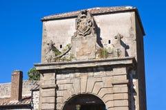 Porta Faul. Viterbo. Il Lazio. L'Italia. Fotografia Stock