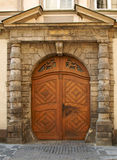 Porta fechada Foto de Stock Royalty Free