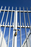 Porta fechada Fotos de Stock Royalty Free