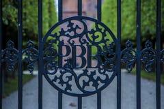 Porta fechada Imagens de Stock
