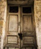 A porta fechado Fotografia de Stock