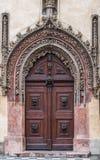 Porta fechado arved ¡ de Ð Fotografia de Stock