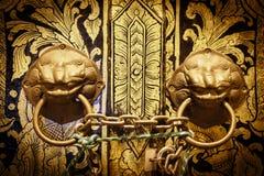 Porta fechado do templo Imagem de Stock