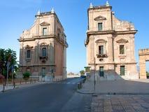 Porta Felice à Palerme, Sicile Photos libres de droits
