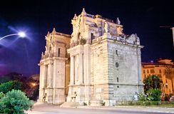 Porta Felice one of main gate of Palermo, Sicily. Porta Felice one of main gate of Palermo city, Sicily Royalty Free Stock Images