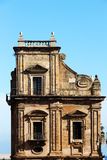 Porta Felice, in Palermo, gegen den Himmel Lizenzfreie Stockbilder