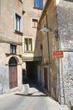 Porta Ferrante Morano Calabro Calabria Italy Fotos de Stock Royalty Free