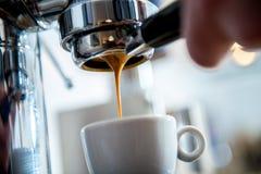 Porta filter espresso machine royalty free stock photography