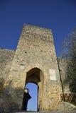 Porta Franca (Monteriggioni) fotografia stock