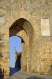 Porta Franca (Monteriggioni) fotografia stock libera da diritti