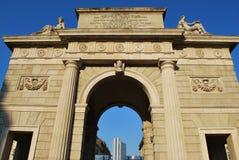 Porta Garibaldi, Milan Royalty Free Stock Images