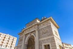 Porta Garibaldi a Milano Fotografie Stock
