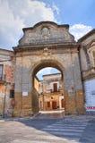 Porta Grande. Mesagne. Puglia. Italy. Royalty Free Stock Photography