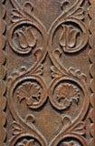 Porta graven de Szekler na Transilvânia Foto de Stock Royalty Free