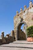 Porta Greco-Bizantina di Agropoli ein Salerno Lizenzfreies Stockfoto