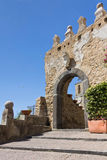 Porta Greco-Bizantina di Agropoli un Salerno fotografia stock libera da diritti