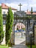 Porta histórica Bilbao, Spain Imagem de Stock Royalty Free