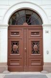 Porta histórica da casa Imagens de Stock Royalty Free