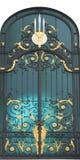 Porta incurvata Immagini Stock Libere da Diritti