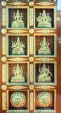 Porta indiana del tempio Fotografie Stock