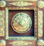 Porta indiana del tempio Fotografie Stock Libere da Diritti