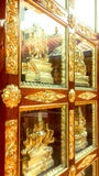 Porta indiana del tempio Fotografia Stock Libera da Diritti