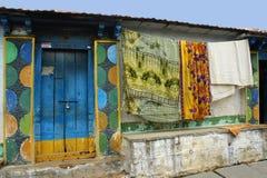 Porta indiana rurale Immagini Stock