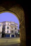Porta islâmica Tunísia Fotografia de Stock Royalty Free