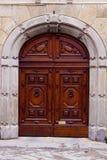 Porta italiana velha. Fotografia de Stock