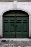 Porta italiana velha. Fotos de Stock