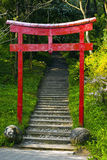 Porta japonesa Imagem de Stock
