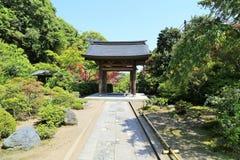Porta japonesa do templo Imagens de Stock Royalty Free